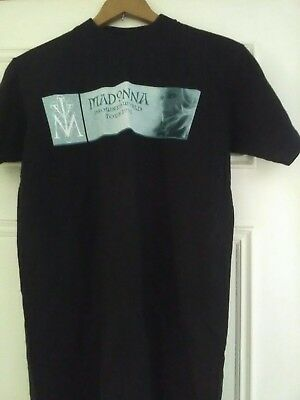 Madonna Drowned World Tour 2001  T Shirt Small