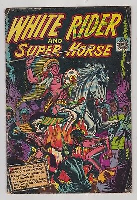 WHITE  RIDER  and  SUPER  HORSE  No.6....1951....ACCEPTED  COMICS