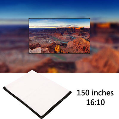 150inch Polyester Office Outdoor Movies Projector Screen Portable Conferences