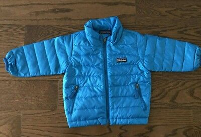 Patagonia Zip Up Baby Jacket For Boy Size 6 Month