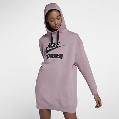 New Oversized Size Nsw Dress 694 2018 L Elemental Air Rose Ah0235 Hoodie Nike thCdrsQ