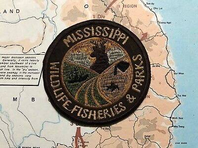 Wildlife Fisheries And Parks  Patch - Mississippi  , Being Sold As Is