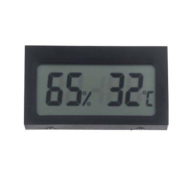 LCD Digital Portable Mini Indoor Humidity Sensor Hygrometer Thermometer Bla N3N3