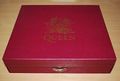 QUEEN Box Of Tricks RARE COMPLETE 1992 UK BOX SET SUPERB CONDITION ALMOST AS NEW