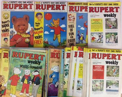 Rupert Weekly #1 to #99 near complete series (Marvel 1982) 95 x issues