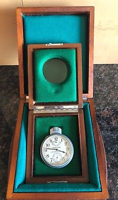 Hamilton Model 22 Chronometer With Rare Double Box