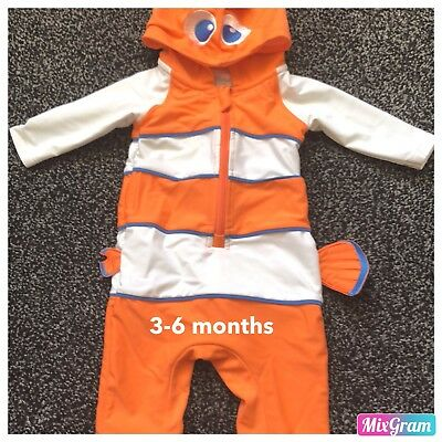 Boys Finding Nemo Swimsuit Aged 3-6 Months