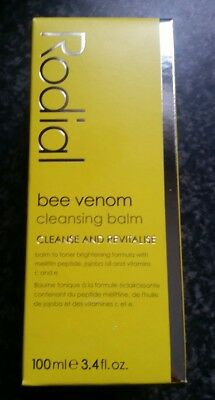 Brand New In Box Rodial Bee Venom Cleansing Balm 100 Ml Recommended By The Stars
