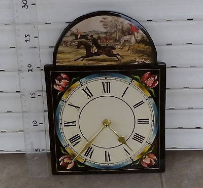 Black Forest Wall Clock Shield Lackschilduhr Schwazwald  (with quartz mechanism)