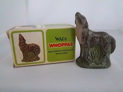 WADE WHOPPA WOLF WITH BOX SET 2 1977-81 - Excellent Condition