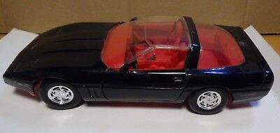 Corvette Zr1 Black 1/24 Revell With Opening Doors And Hood