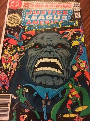 Justice League Of America - Apokolips Now! No 184 - November 1980