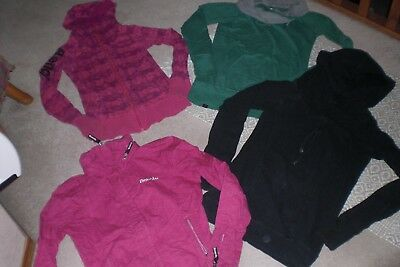 """""""SALE"""" Lot of 3 Womans Bench Jackets and 1 Pullover sz M"""