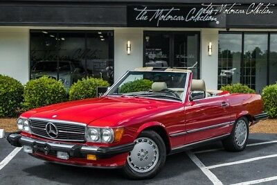 1989 Mercedes-Benz SL-Class  CLEAN CARFAX CERTIFIED! VERY PRISTINE MERCEDES-BENZ 560SL! COLLECTOR QUALITY!