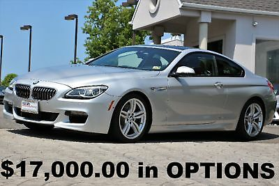 BMW 6-Series 650i xDrive Coupe M Sport Edition 2016 M Sport Edition Active Cruise Control ACC Stop & GO Silver Auto AWD Perfect