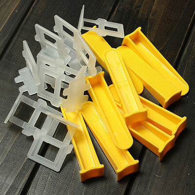 50pcs Tile Leveling Construction Tools For Floor/Wall Wedges Or Straps