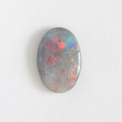 Natural Solid Semi Black Opal 2.17Ct12.9X8.8  Lightning Ridge Australia