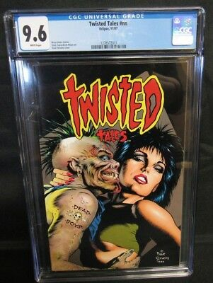 Twisted Tales #nn (1987) Dave Stevens Cover CGC 9.6 White Pages CM2141