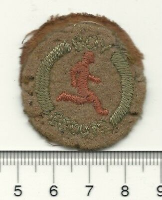 Old Felt Boy Scouts of Canada Athlete Badge