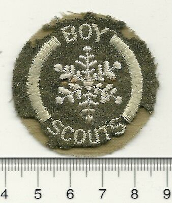 Boy Scouts of Canada Felt Winter Scouting Badge