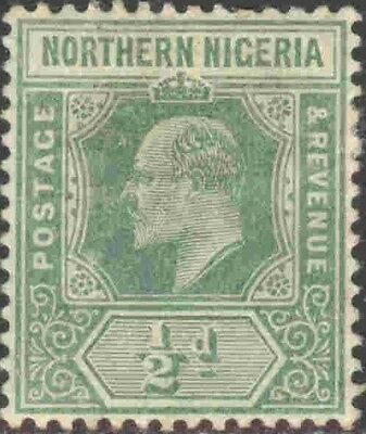 1910-11 Northern Nigeria #28 Mint Hinged Single King Edward VII Definitive