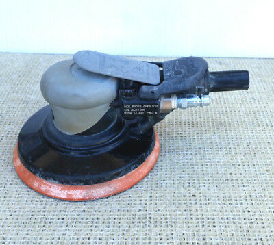 "Dynabrade 69028 6"" Orbital Self-Generated Vacuum Air Sander, Hook Loop Pad"