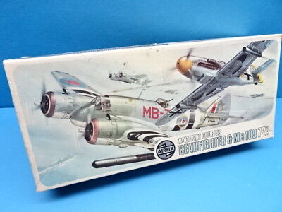 """1/72 Airfix (1973): Dogfight-Doubles  """" Beaufighter   &  Me-109 """""""