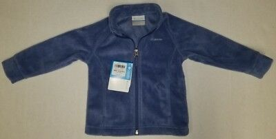 Columbia Baby Toddler Boys Fleece Jacket Lightweight Benton Springs Blue New!