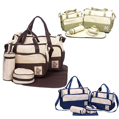 PRACTICAL BABY PAD Diaper Nappy Changing Tote Handbag Mummy Mother ... 1048925ab1