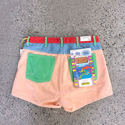 Peter Max x Wrangler short pants : vintage reissue shirt keith haring 70s jeans