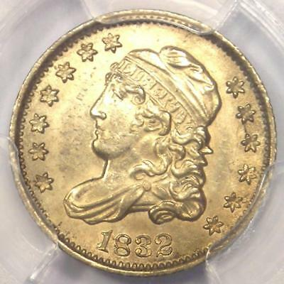 1832 Capped Bust Half Dime H10C - PCGS Uncirculated Details - Rare MS BU Coin!