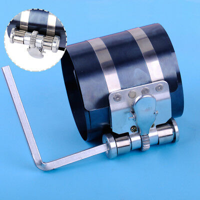 """3"""" Piston Ring Compressor Ratchet Style & Wrench Engine Tool 53-175mm Installer"""