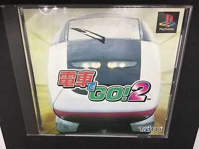 Densha De Go 2 For Japanese PS1 Import  ***USA Seller***