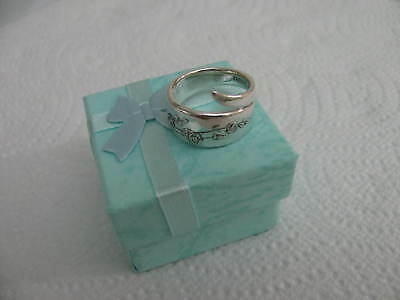 Sterling Silver spoon RING s 5 3/4 YOUNG LOVE Jewelry # 6264