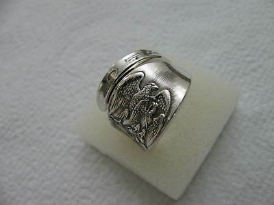 Sterling Silver spoon RING s 9 1/4 NEW MEXICO Jewelry # 6271