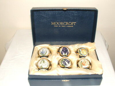 Moorcroft 1 St Class Sian Leeper Parisian Dream Boxed Egg-Cup Set Truly Fabulous