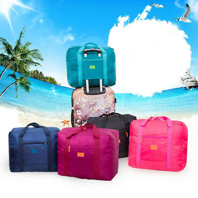 Foldable Large Duffel Bag Luggage Storage Waterproof Travel Pouch Tote Bag