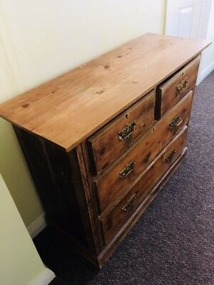 Medium size  antique chest of drawers
