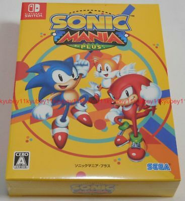 New Nintendo Switch SONIC MANIA PLUS Soundtrack CD Artbook Japan 4974365861131