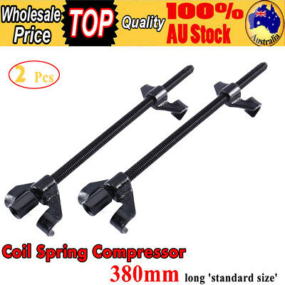 2x Coil Spring Compressor Car Truck Remove Repair Tool 380mm Extended Length