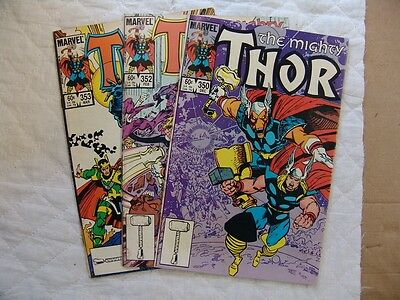 THOR 350, 352, 353   VERY FINE condition