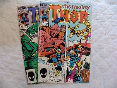 THOR 357, 358   VERY FINE condition