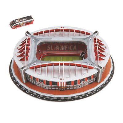 Puzzle 3D Benfica Football Field Modello Puzzle Self Assembled Adulti Hobby