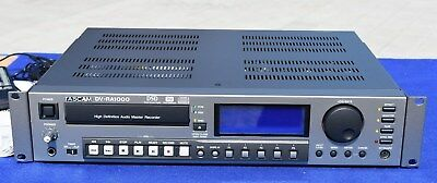 Tascam DV-RA1000 High Definition Professional  Audio Master Recorder + Remote