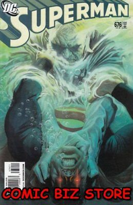 Superman #676 (2008) 1St Printing Bagged & Boarded Dc