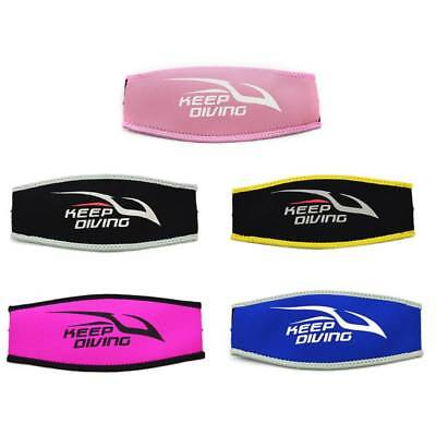 Neoprene Diving Mask Head Strap Cover Strap-Wrapper Protect Unisex Hair Band