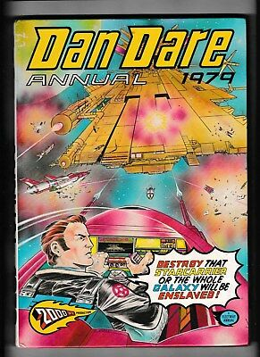 Dan Dare Annual 1979 In Good Condition