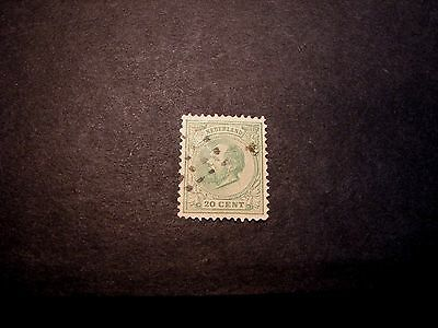 Netherlands Stamp Scott# 28  William III 1872-88    C357