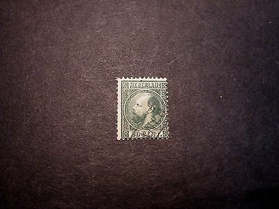 Netherlands Stamp Scott# 10  William III 1867    C357