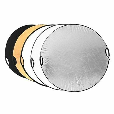 110cm 5 in 1 Portable Photography Studio Collapsible Light Reflector F3K6